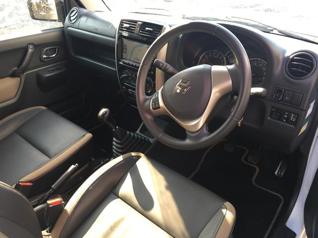 スズキ ジムニー ランドベンチャー 4WD 5MT ナビ新品 ハーフレザー