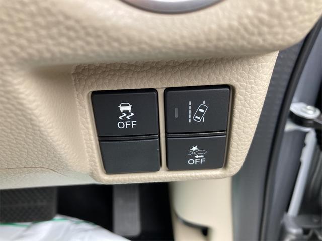 Gホンダセンシング 4WD ETC LED 衝突被害軽減システム シルバー CVT AC 修復歴無 両側スライドドア バックカメラ 4名乗り オーディオ付(27枚目)