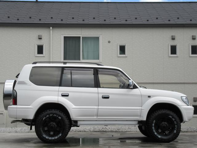 トヨタ ランドクルーザープラド TX-LTD新品ROCKSTAR2新品マッドタイヤリフトUP