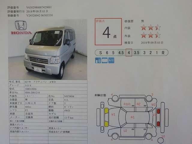 ホンダ アクティバン SDX 4WD 5M/T