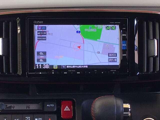 RS ドラレコ メモリーナビ アルミ ETC ターボ ETC 衝突軽減B メモリーナビ リアカメラ スマートキー フルセグTV(5枚目)