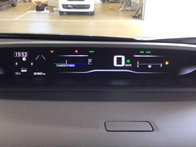 スパーダハイブリッド G・EX ホンダセンシング ドラレコ 衝突被害軽減ブレーキ ナビ 両側電動ドア ABS Bカメラ LED ナビTV ETC クルコン フルセグTV メモリナビ キーレス 3列シート AW(16枚目)