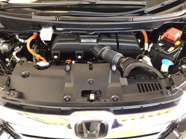 スパーダハイブリッド G・EX ホンダセンシング ドラレコ 衝突被害軽減ブレーキ ナビ 両側電動ドア ABS Bカメラ LED ナビTV ETC クルコン フルセグTV メモリナビ キーレス 3列シート AW(17枚目)
