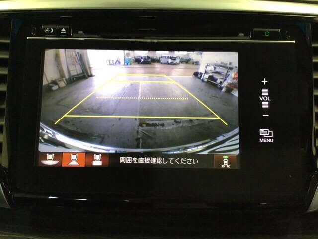アブソルート・EX R席モニター メモリーインターナビ CMBS WPスラ LED 盗難防止システム ETC ナビTV DVD パワーシート スマートキー CD アイドリングストップ キーレス クルーズコントロール AW(9枚目)