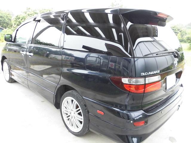 トヨタ エスティマT アエラス 4WD 社外18AW HID コラムオートマ