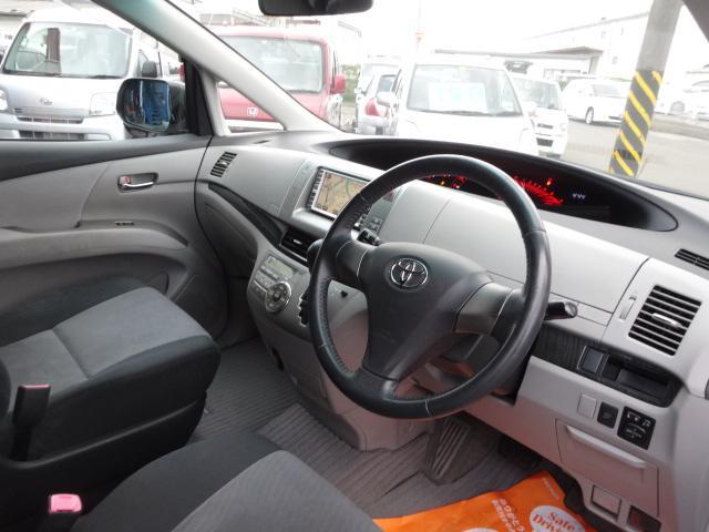 トヨタ エスティマ アエラス Sパッケージ HDDナビBカメラ 両側電動スライド