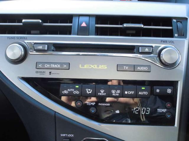 レクサス RX RX450H バージョンL 4WD サンルーフ 革シート