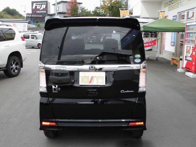 ホンダ N BOX+カスタム G・Lパッケージ4WD 地デジナビ DVD再生 両側電動ドア