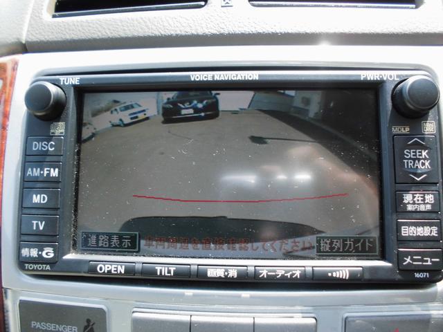 トヨタ イプサム 240u Gセレクション 4WD 純正DVDナビ ETC