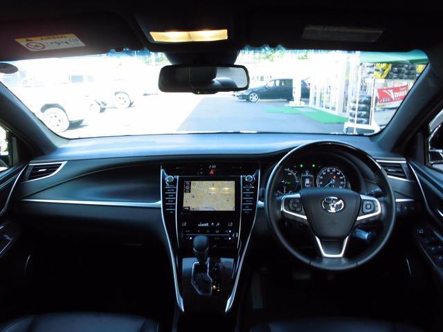 トヨタ ハリアーハイブリッド プレミアム アドバンスドパッケージ 4WD JBLサウンド