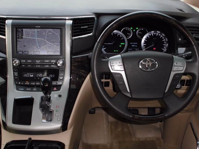 トヨタ ヴェルファイアハイブリッド V Lエディション 4WD レーダークルーズ寒冷地ツインナビ