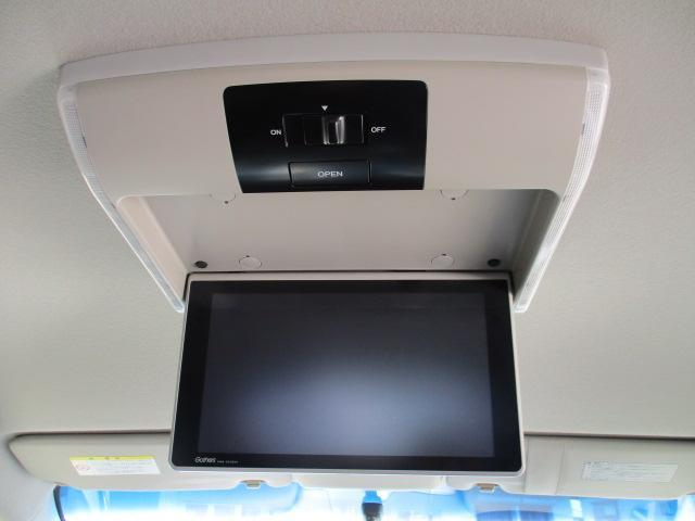G プレミアムエディション 4WD 禁煙車 寒冷地仕様 両側電動スライドドア プレミアムインターナビ フルセグ バックカメラ フリップダウンモニター ハーフレザーシート クルーズコントロール ETC HIDライト(14枚目)