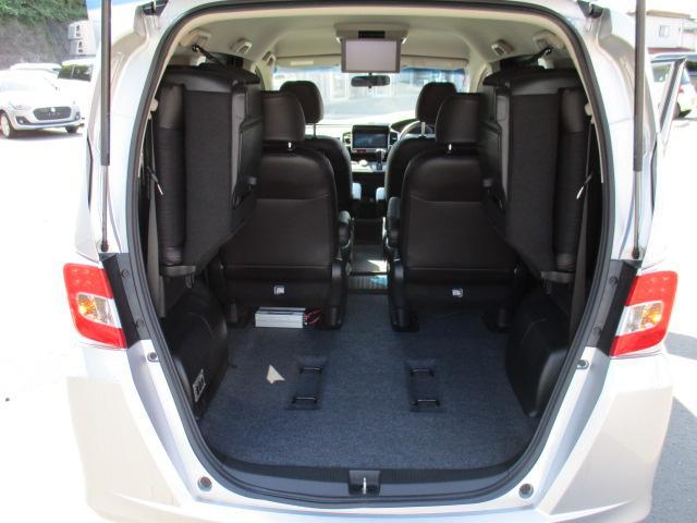 G プレミアムエディション 4WD 禁煙車 寒冷地仕様 両側電動スライドドア プレミアムインターナビ フルセグ バックカメラ フリップダウンモニター ハーフレザーシート クルーズコントロール ETC HIDライト(22枚目)