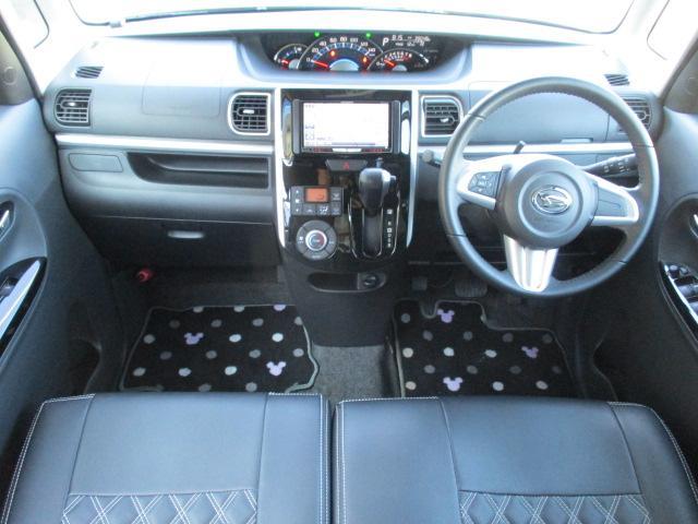 カスタムRS SA 4WD フルセグHDDナビ CD DVD ブルートゥース バックカメラ 衝突軽減システム LEDライト オートライト スマートキー 両側電動スライドドア  14インチアルミ サイドエアバッグ(3枚目)