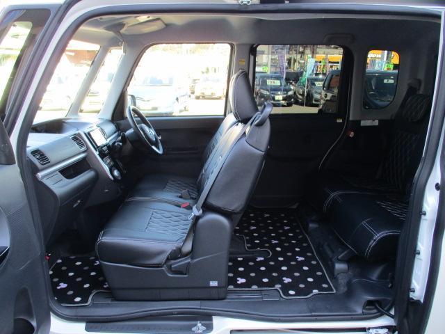 カスタムRS SA 4WD フルセグHDDナビ CD DVD ブルートゥース バックカメラ 衝突軽減システム LEDライト オートライト スマートキー 両側電動スライドドア  14インチアルミ サイドエアバッグ(16枚目)