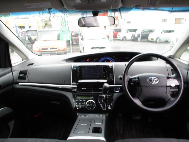 アエラス 4WD 純正フルセグHDDナビ CD DVD SD ブルートゥース 後席モニター バックカメラ ETC HIDライト 両側電動スライドドア スマートキー 純正17インチアルミ コーナーセンサー(3枚目)