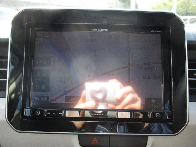ハイブリッドMZ 4WD! 8インチフルセグナビ バックカメラ CD DVD SD ブルートゥース ETC ドラレコ 衝突軽減装置 レーンアシスト スマートキー LEDライト アイドリングストップ 社外サス・ショック(27枚目)
