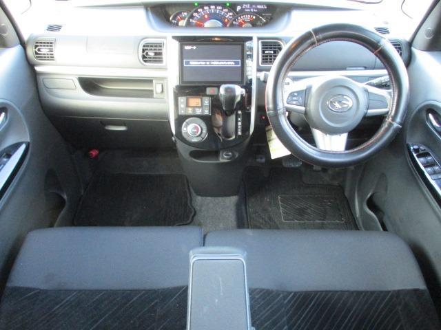 カスタムRS SAII 4WD! 衝突軽減装置システム ターボ車 両側自動スライドドア 純正SDナビ バックカメラ HDMI フルセグ USB接続 CD DVD再生 アイドリングストップ ステアリングリモコン(10枚目)