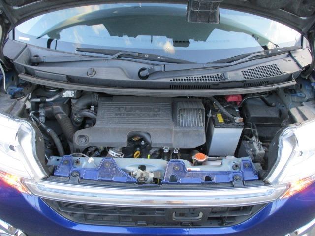 カスタムRS SAII 4WD! 衝突軽減装置システム ターボ車 両側自動スライドドア 純正SDナビ バックカメラ HDMI フルセグ USB接続 CD DVD再生 アイドリングストップ ステアリングリモコン(39枚目)