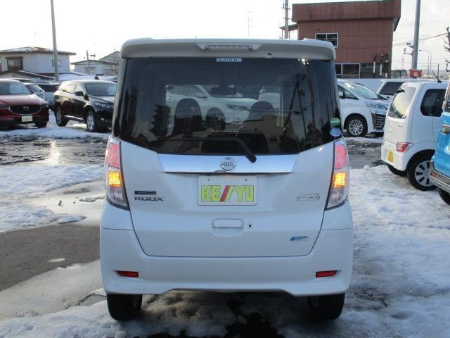 ハイウェイスター X 4WD! 禁煙車 衝突被害軽減装置 社外ナビ ETC アラウンドビューモニター バックカメラ Bluetooth フルセグ CD DVD アイドリングストップ 左電動スライドドア HIDライト フォグ(8枚目)