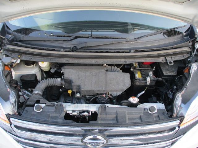 ハイウェイスター X 4WD! 禁煙車 衝突被害軽減装置 社外ナビ ETC アラウンドビューモニター バックカメラ Bluetooth フルセグ CD DVD アイドリングストップ 左電動スライドドア HIDライト フォグ(42枚目)