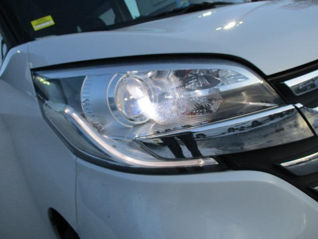 ハイウェイスター X 4WD! 禁煙車 衝突被害軽減装置 社外ナビ ETC アラウンドビューモニター バックカメラ Bluetooth フルセグ CD DVD アイドリングストップ 左電動スライドドア HIDライト フォグ(45枚目)