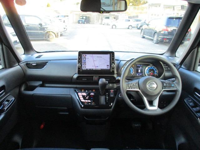 ハイウェイスター X プロパイロットエディション 4WD 衝突被害軽減システム プッシュスタート スマートキー SDナビ CD DVD再生 Bluetooth 両側電動スライドドア クルコン 全周囲モニター シートヒーター ステリモ オートエアコン(10枚目)