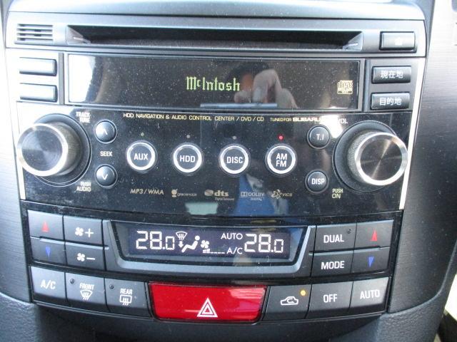 2.5i Sパッケージ 4WD! マッキントッシュ純正ナビ CD DVD バックカメラ 黒革シート シートヒーター パワーシート パドルシフト 純正18インチアルミ HIDライト フォグ スマートキー プッシュスタート(24枚目)