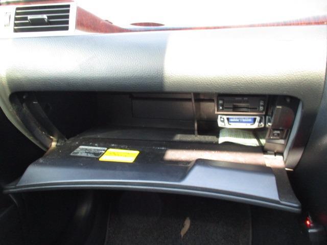 Cタイプ Fパッケージ スーパーチャージャー 340馬力 サンルーフ エアサス 革シート シートヒーター サンシェード バックカメラ ドライブレコーダー ETC シートメモリー CD DVD MD(41枚目)