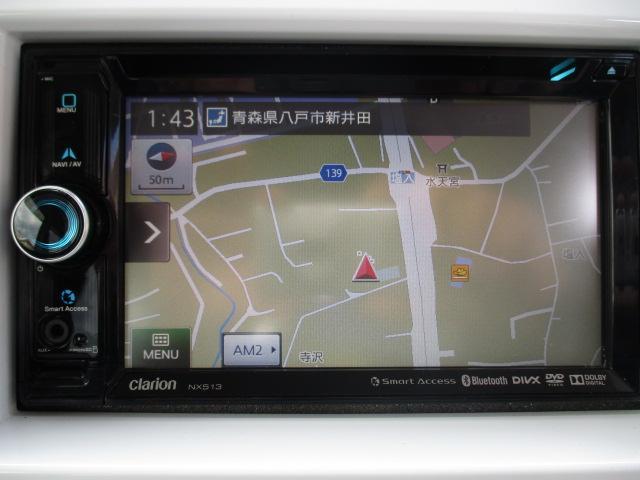 Xターボ 衝突被害軽減装置 社外ナビ ワンセグ CD DVD HIDヘッドライト プッシュスタート スマートキー シートヒーター(27枚目)