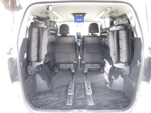 3.5Z 4WD 社外HDDナビ フルセグ バックカメラ CD DVD フリップダウンモニター 両側電動スライドドア クリアランスソナー 寒冷地仕様(18枚目)