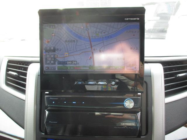 3.5Z 4WD 社外HDDナビ フルセグ バックカメラ CD DVD フリップダウンモニター 両側電動スライドドア クリアランスソナー 寒冷地仕様(23枚目)