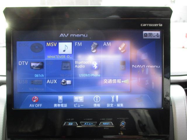 3.5Z 4WD 社外HDDナビ フルセグ バックカメラ CD DVD フリップダウンモニター 両側電動スライドドア クリアランスソナー 寒冷地仕様(25枚目)