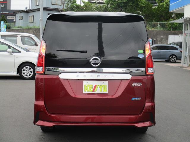 ハイウェイスター 4WD 衝突被害軽減装置 レーンアシスト 追従クルコン 純正9インチSDナビ フルセグ CD DVD Bluetooth 全方位カメラ ETC 両側電動スライドドア スマートキー プッシュスタート(7枚目)