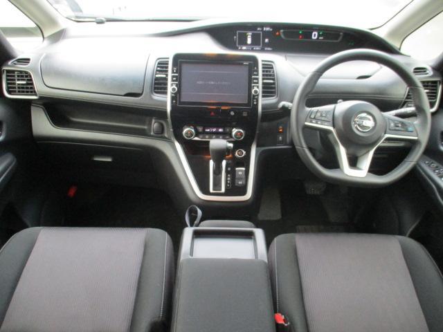 ハイウェイスター 4WD 衝突被害軽減装置 レーンアシスト 追従クルコン 純正9インチSDナビ フルセグ CD DVD Bluetooth 全方位カメラ ETC 両側電動スライドドア スマートキー プッシュスタート(10枚目)