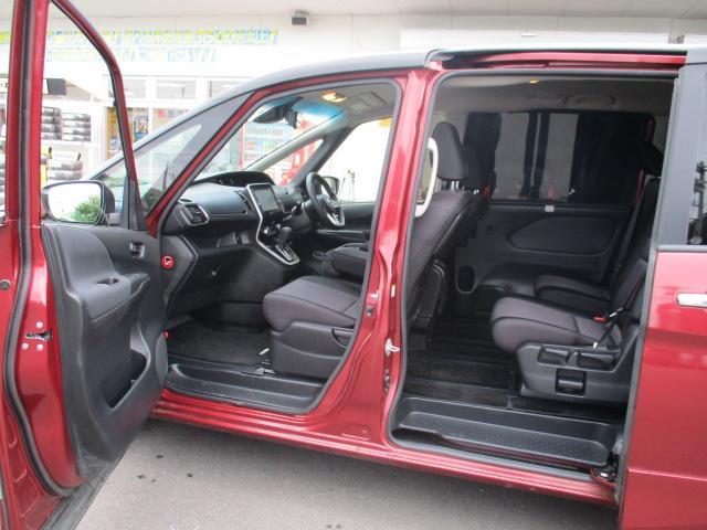 ハイウェイスター 4WD 衝突被害軽減装置 レーンアシスト 追従クルコン 純正9インチSDナビ フルセグ CD DVD Bluetooth 全方位カメラ ETC 両側電動スライドドア スマートキー プッシュスタート(20枚目)