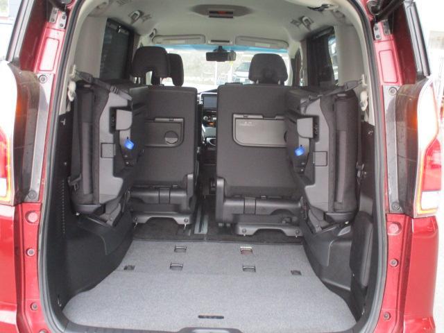 ハイウェイスター 4WD 衝突被害軽減装置 レーンアシスト 追従クルコン 純正9インチSDナビ フルセグ CD DVD Bluetooth 全方位カメラ ETC 両側電動スライドドア スマートキー プッシュスタート(23枚目)