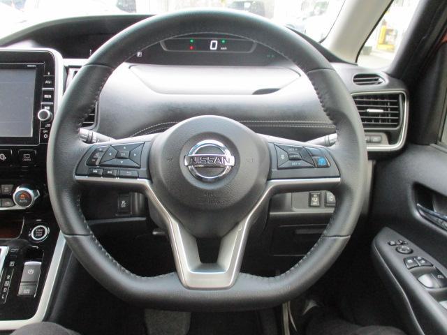ハイウェイスター 4WD 衝突被害軽減装置 レーンアシスト 追従クルコン 純正9インチSDナビ フルセグ CD DVD Bluetooth 全方位カメラ ETC 両側電動スライドドア スマートキー プッシュスタート(24枚目)