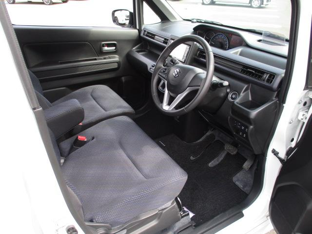 ハイブリッドFZ 4WD 衝突被害軽減装置 レーンキープアシスト ヘッドアップディスプレイ LEDヘッドライト SDナビ CD DVD再生 ワンセグ ステアリングリモコン プッシュスタート スマートキー 純正アルミ(10枚目)