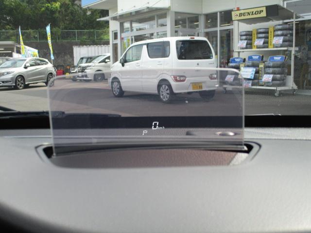 ハイブリッドFZ 4WD 衝突被害軽減装置 レーンキープアシスト ヘッドアップディスプレイ LEDヘッドライト SDナビ CD DVD再生 ワンセグ ステアリングリモコン プッシュスタート スマートキー 純正アルミ(34枚目)