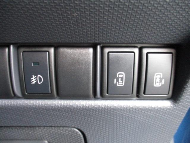 S 4WD 両側電動スライドドア 冬タイヤ付 社外SDナビ 地デジ バックカメラ CDDVD シートヒーター HIDヘッドライト フォグライト スマートキー オートライト 電動格納ミラー プッシュスタート(29枚目)