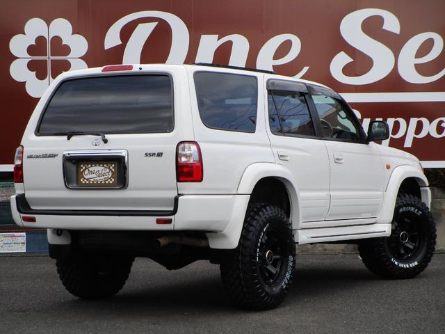 SSR-X 後期型ガソリン背面レス2インチリフトUPコンプリート新品ヴィンテージグリル新品HLUSコーナー新品ボンネットガードリメイクホイールBFMT(2枚目)