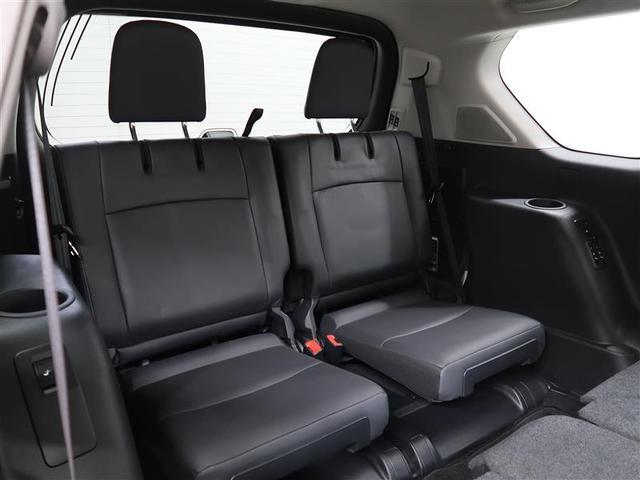 TX Lパッケージ 革シート 4WD フルセグ DVD再生 ミュージックプレイヤー接続可 バックカメラ ETC LEDヘッドランプ 乗車定員7人 3列シート ワンオーナー フルエアロ 記録簿 ディーゼル(10枚目)