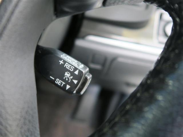【レーダークルーズコントロール】前方の車との車間距離を保って追従走行し、長時間の運転負荷を軽減します。※支援の範囲には限りがあります。常に周囲の状況を把握し、必要に応じてブレーキで減速してください。