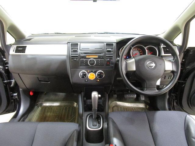 日産 ティーダ 15M FOUR 切替式4WD 新品ポータブルナビ 1オナ車