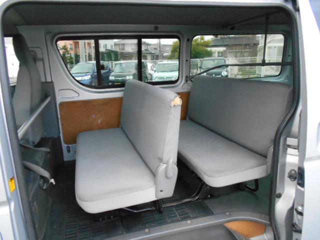 トヨタ レジアスエースバン ロングDX 9人乗り タイミングベルト交換済み 4WD