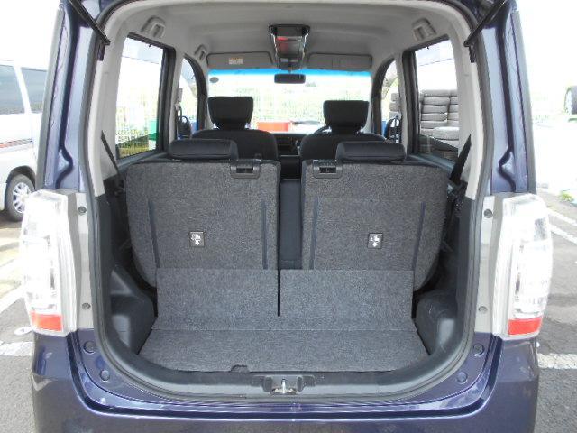 カスタムG アイドリングストップ HIDライト フォグライト 社外オーディオ 純正14インチアルミホイール 手動リフター スマートキー ウインカー付き電動ドアミラー プライバシーガラス フロアマット(42枚目)
