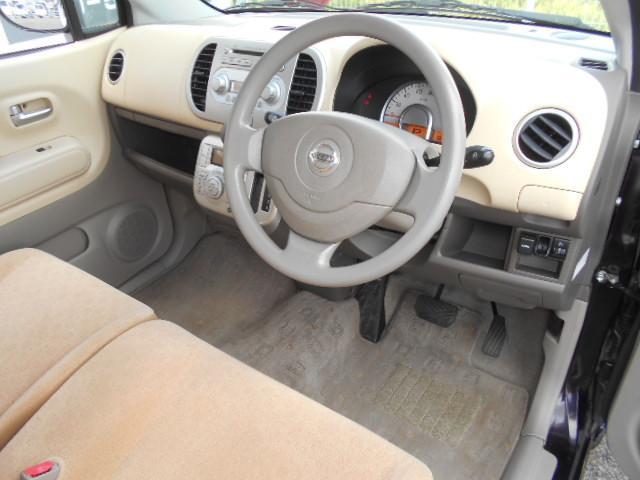 E 車検整備付 スマートキー ワンオーナー車 ベンチシート 運転席手動シートリフター フロアマット ドアバイザー プライバシーガラス チルト機構(12枚目)