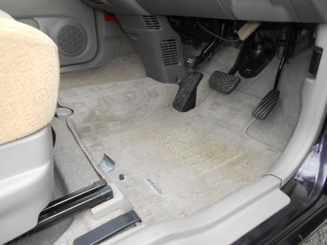 E 車検整備付 スマートキー ワンオーナー車 ベンチシート 運転席手動シートリフター フロアマット ドアバイザー プライバシーガラス チルト機構(16枚目)
