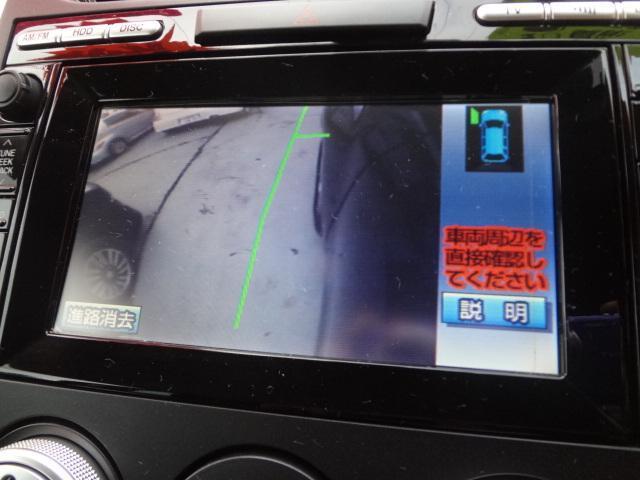 マツダ CX-7 ベースグレード ターボ HDDナビ バック・サイドカメラ